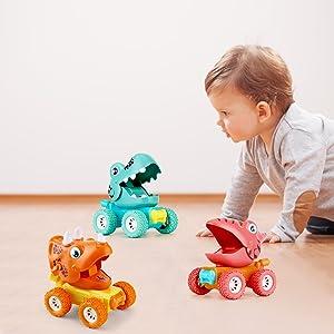 baby dinosaur car toys