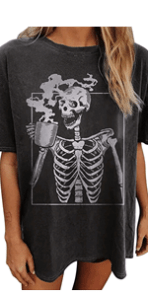 Skeleton Shirts for Womens