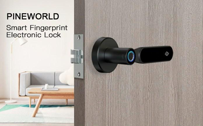 PINEWORLD smart fingerprint electronic lock