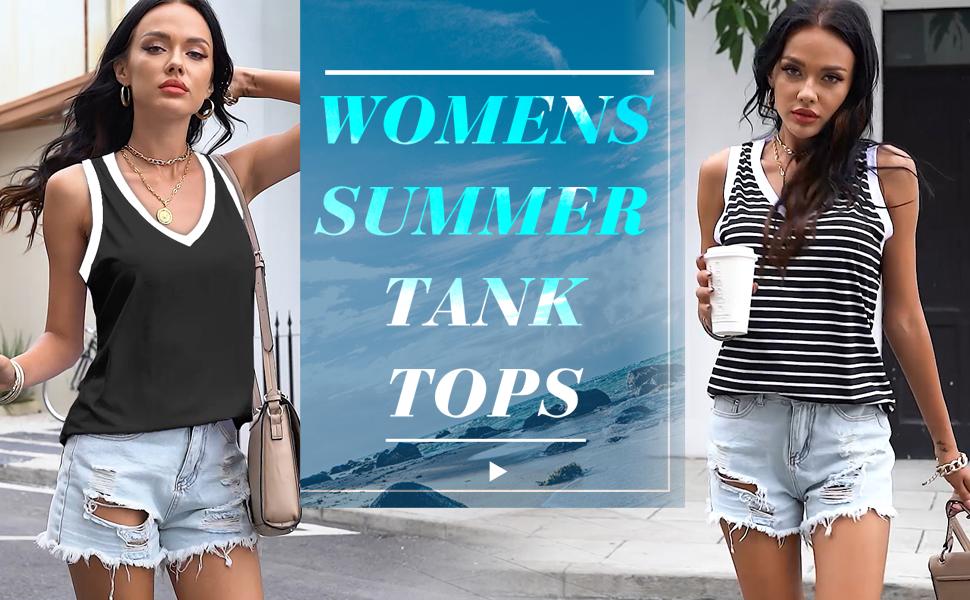 summer tops for women