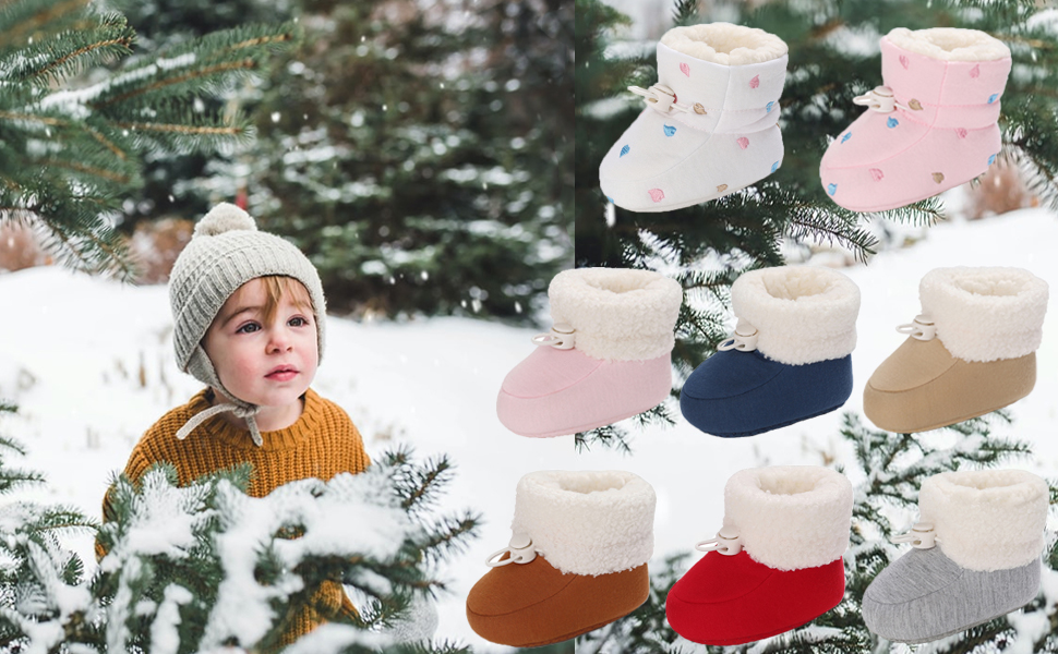 Baby Boy's Girl's boots,0-3 Months baby shoes, Infant winter shoes, Newborn boots, Baby shoes.