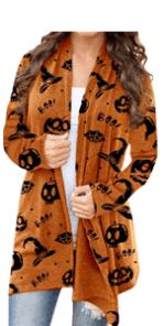Women Halloween Open Front Halloween