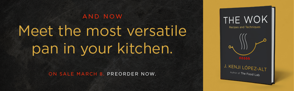 And now, meet the most versatile pan in your kitchen.  The Wok.  On sale March 8