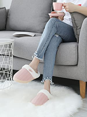 pink house slippers