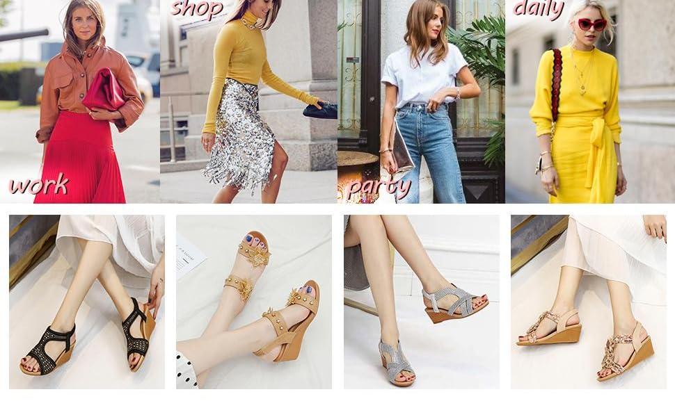women cansual summer beach sandals