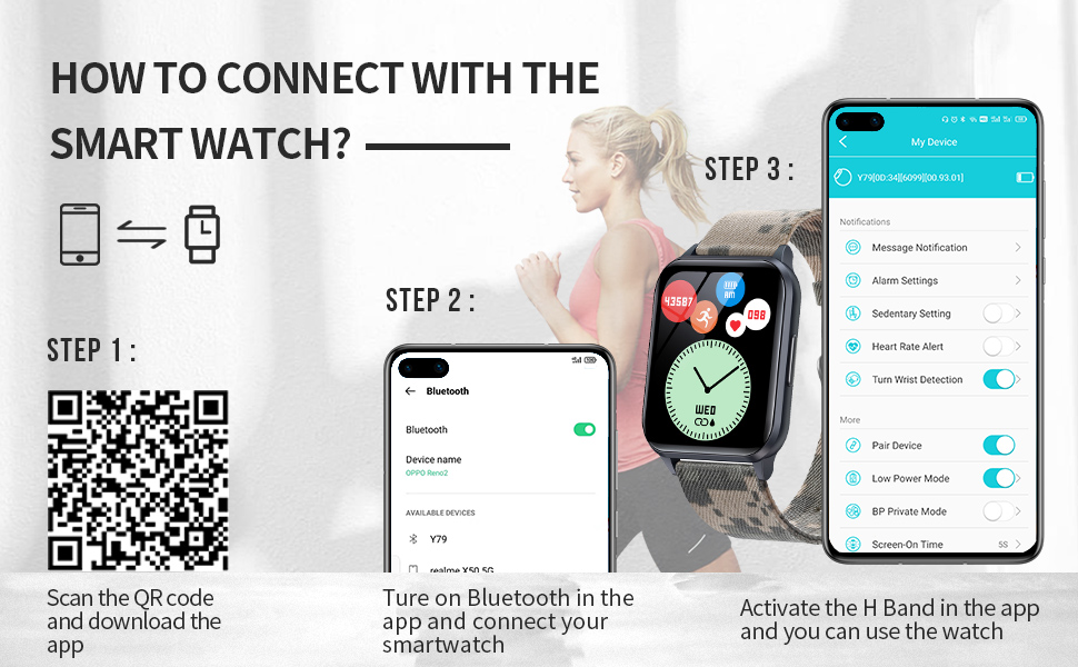 smart watch for men android