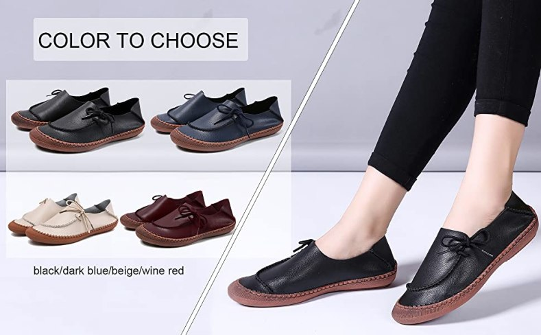 nursing outfit non easy dance cloud comfy orthopedic footwear resistant nurse style moccasin soles
