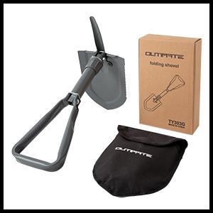 Camping Shovel with Storage Bag