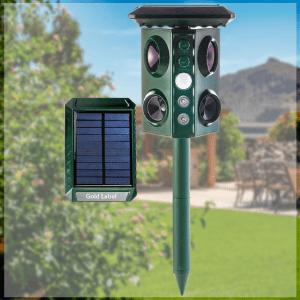solar repellent outdoor, ultrasonic solar mole repeller