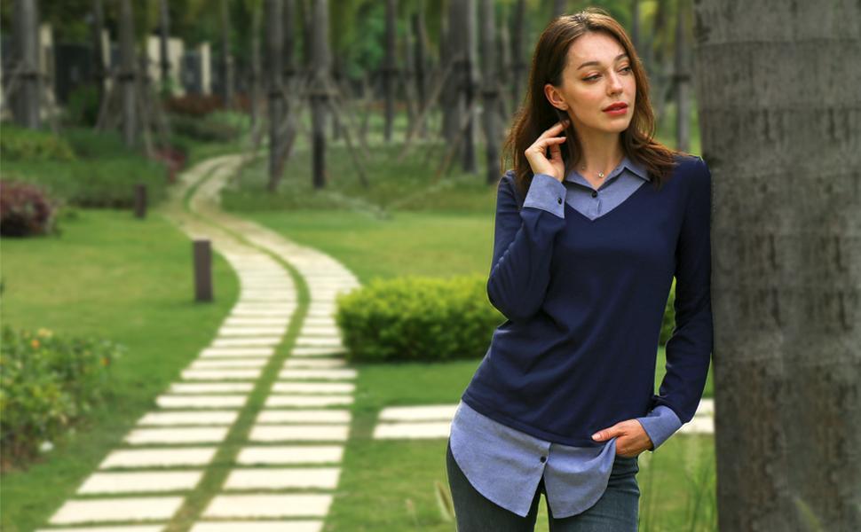 tunic shirts for women