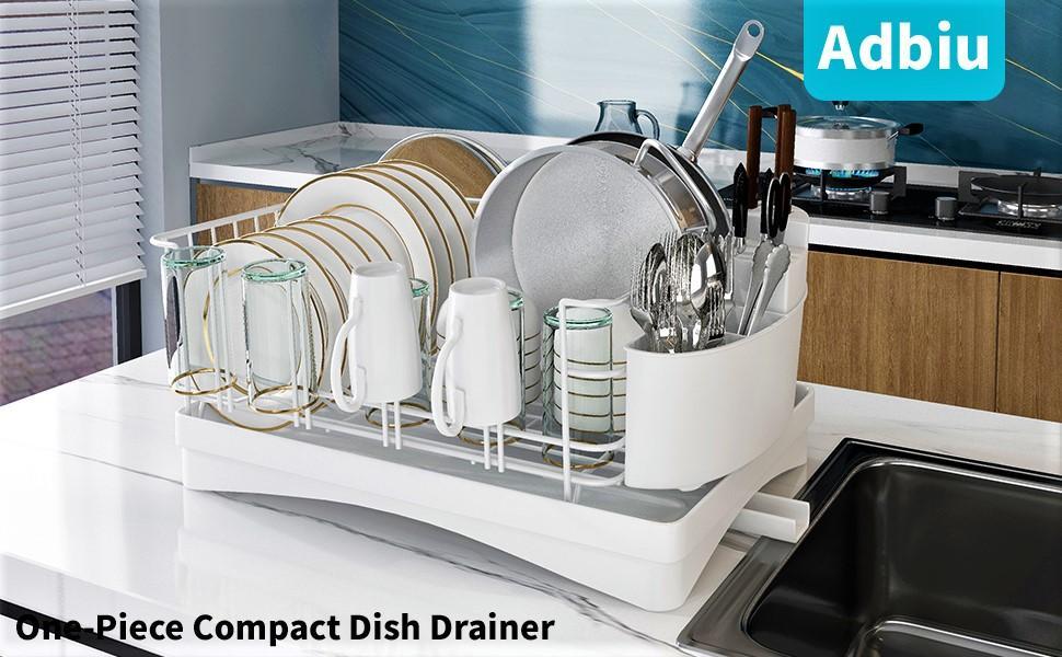 Dish rack and drainboard set