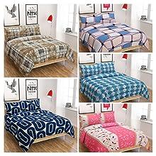polycotton bedsheets,king size bedsheet,super king size bedsheet,bedsheet with 2 pillow cover