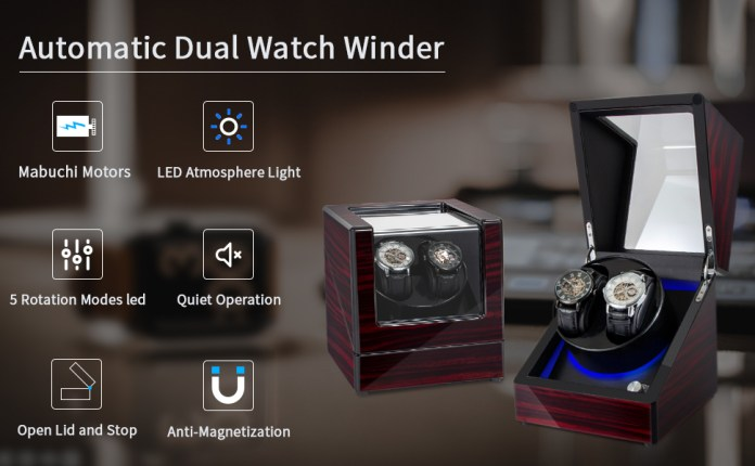 Automatic Dual Watch Winder