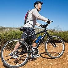 自行车水杯