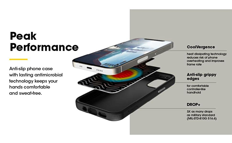 iphone 11 pro max cooling case, gaming cooling case, iphone 11 pro max gaming case, otterbox case
