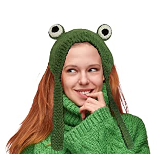 frog cosplay hat