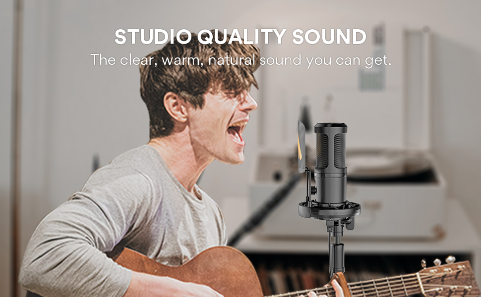 high-quality microphone