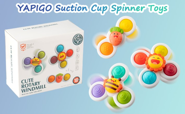 Suction Cup Spinner Toy