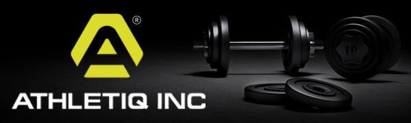 Athletiq Inc Workout Gloves Logo