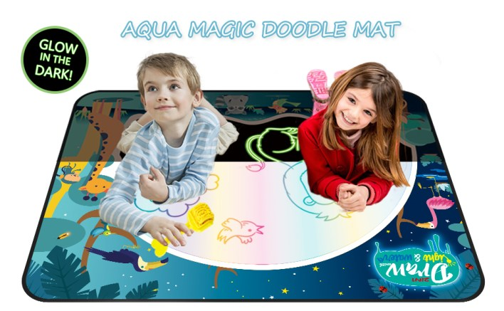 Large 48x35 Inches Water Doodle Mat - Best Gift Toys For Toddlers