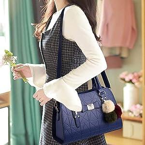 side bag handbag leather purce daily use office bag women handbag