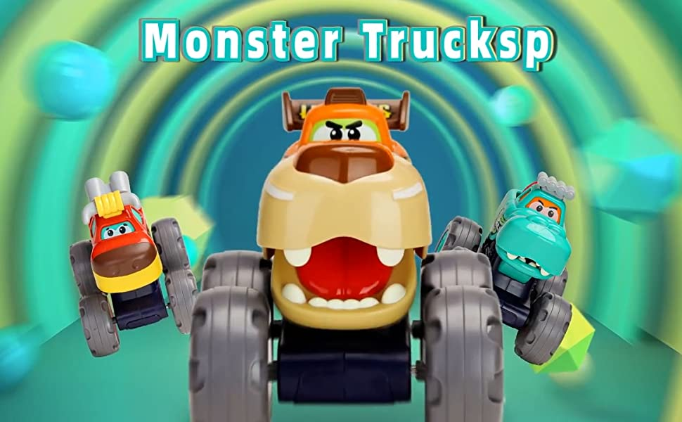 kids monster trucks toys