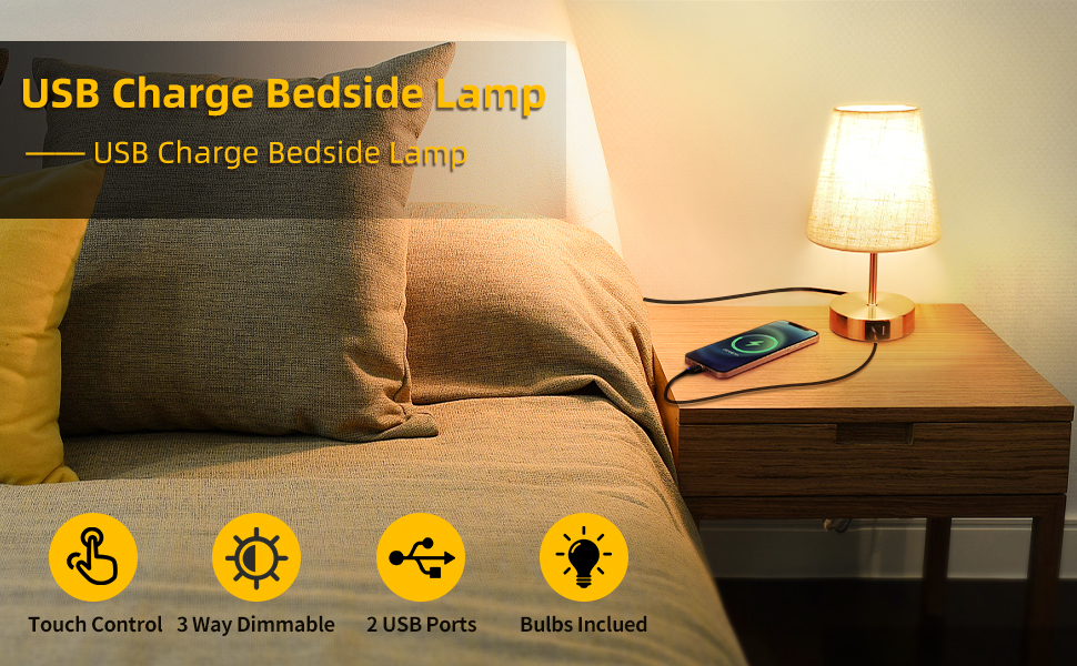 yatak odası için masa lambaları
