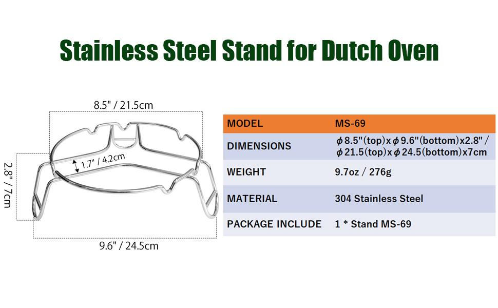 dutch oven stand