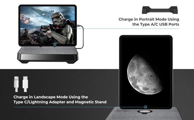 6-in-1 Wireless Charging Station for Multiple Devices