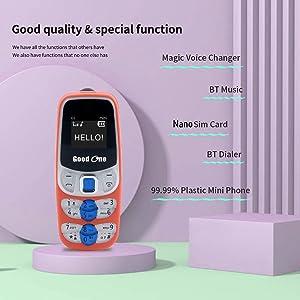 mini phone k10 nano keypad bt dialer bluetooth  g2 bluetooth