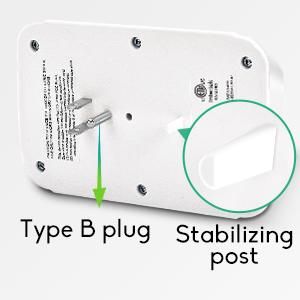 3 prong wall adapter
