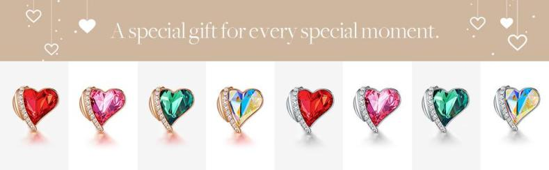 earrings with different colors special gift for her