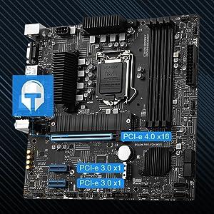 Fortified PCI-e 4.0 x16