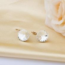 Crystal Dangle Hoop Earrings