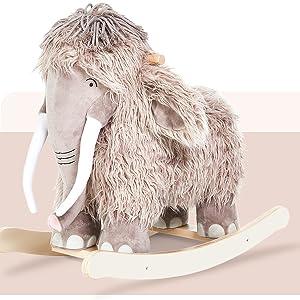 Plush Rocking Horse, Mammoth Rocker
