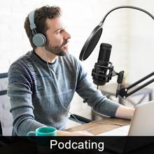 Professional Studio Recording, Podcasting Broadcasting