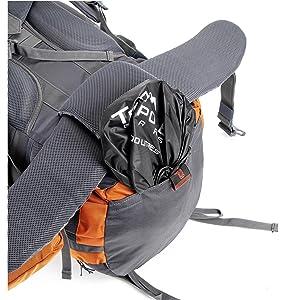 tripole gears walker rucksack rain cover pocket