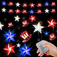 american flag lights american flag hat string lights flag hat lights
