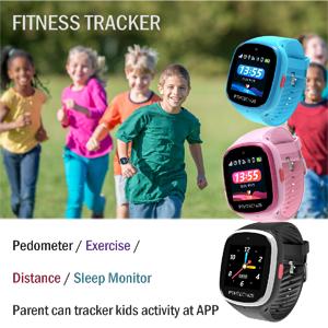 Kids Fitness Tracker GPS Watch Gps tracker Position Tracker pedometer distance sleep monitor
