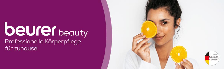 Beurer Beauty Titelbild - für professionelle Körperpflge für zuhause