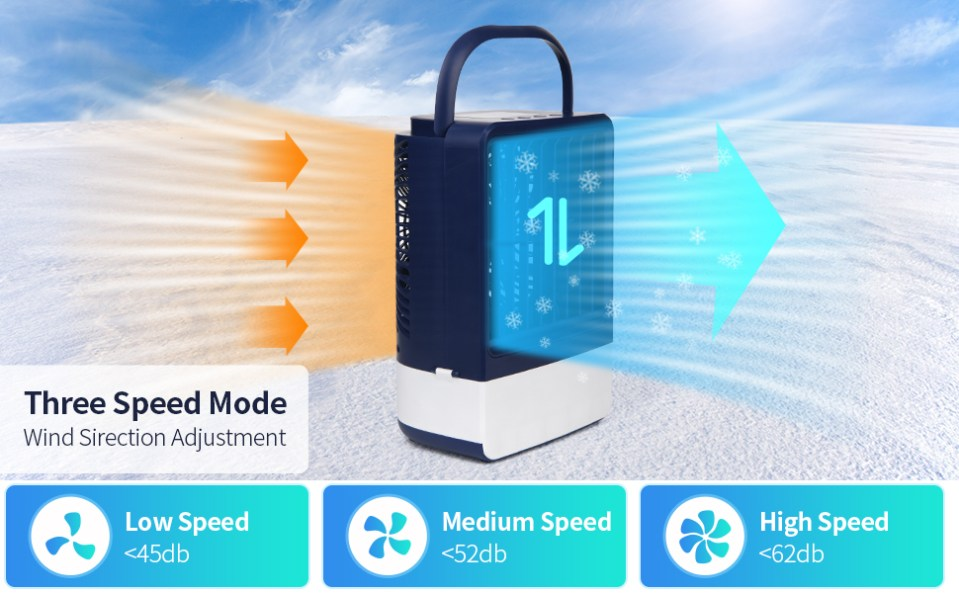 three speed mode