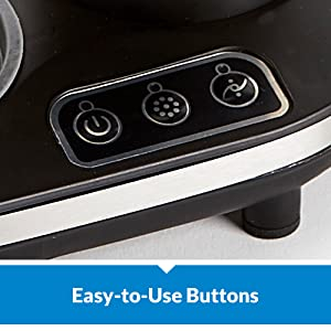 easy-to-use buttons, powerxl grind and go
