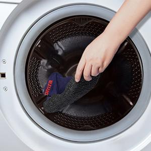 100% machine washable