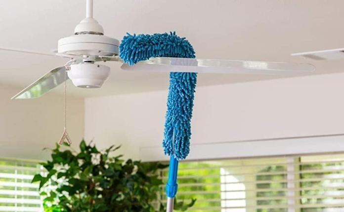 Foldable Microfiber Fan Cleaning Duster