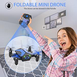 foldable mini drone