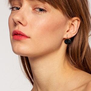 black gold earrings for women