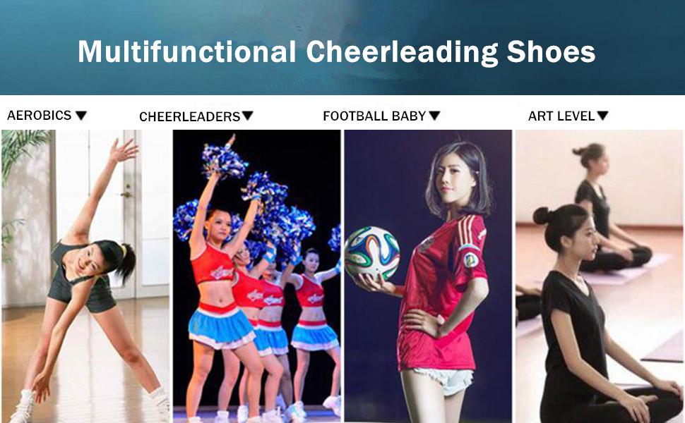 Womens Cheerleading Shoes