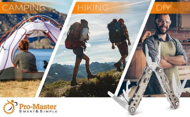 multi tool pocket knife Pro Master Camping Hiking DIY