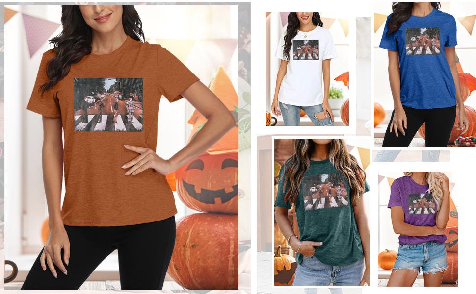 Women Halloween T Shirt