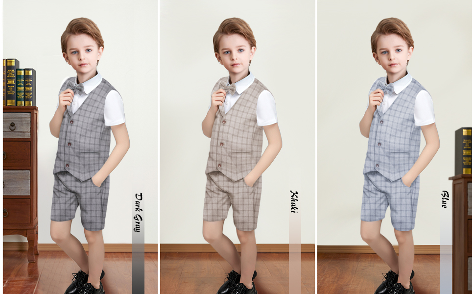 Toddler Boy Outfits Set Infant Baby Gentleman Suit Set
